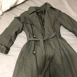 Mossimo trench coat